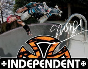 INDEPENDENT TRUCKS BEHIND THE AD: STEVE ALBA