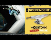 INDEPENDENT TRUCKS - KOSTON II FORGED HOLLOW