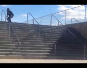 INSTABLAST! - BACKFLIP to FS ROCK!! Hesh Doubles Smith Grinds! Cop Skateboarding!