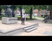Iphone skateboard montage