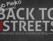 Jakub Piejko zaprasza na Back To The Streets