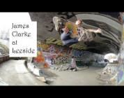 James Clarke at Leeside...
