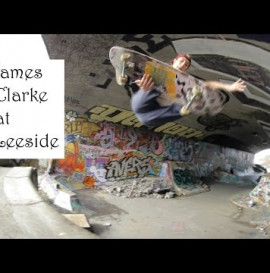 James Clarke at Leeside...