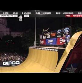Jimmy Wilkins Wins Skate Vert Gold