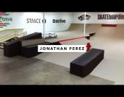 Jonathan Perez in the TWS Park | TransWorld SKATEboarding