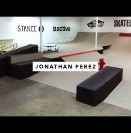 Jonathan Perez in the TWS Park | TransWorld SKATEboarding