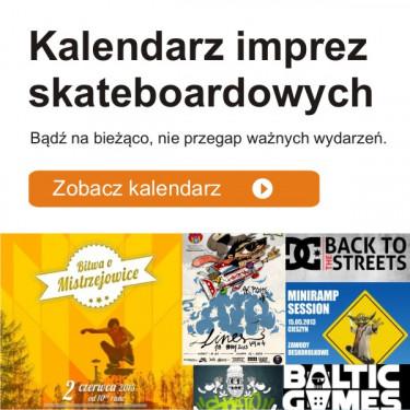 Kalendarz imprez skateboardowych !