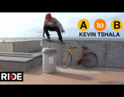Kevin Tshala Skates Ostend, Belgium - A to B