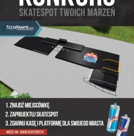 Konkurs - Skate Spot Twoich Marzeń.