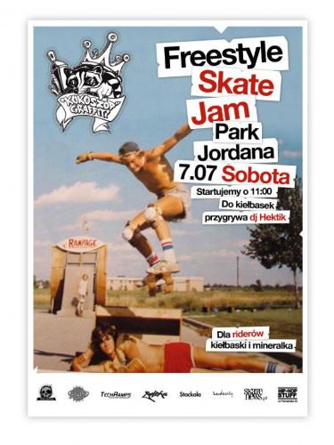 Kraków- Freestyle Skate Jam