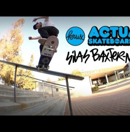 Krux Trucks Presents: Actual Skateboarding with Silas Baxter Neal