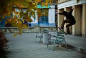 KSU - frontside boardslide