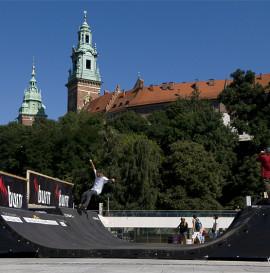 Kulturalny Skejt Na Trakach Historii 2 - tym razem pod Wawelem