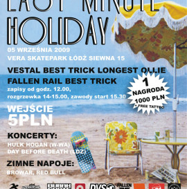 Last Minute Holiday