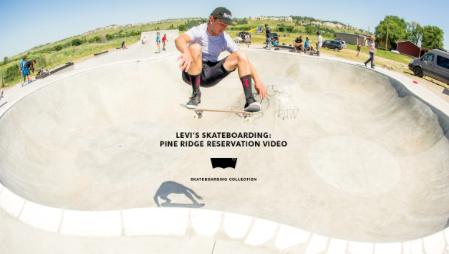 Levi's Skateboarding – Pine Ridge Reservation