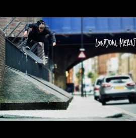 London, Meantime /// adidas Skateboarding in London