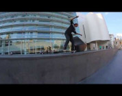 Longest Nose Manual Nollie Flip Out in MACBA