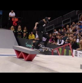 Luan Oliveira's full 9.1 run - SLS Stop Two: New Jersey Highlights