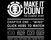 "Make It Count - ""Water"""