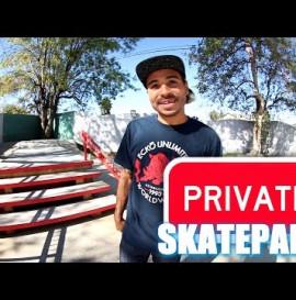 Manny Santiago's PRIVATE Skatepark