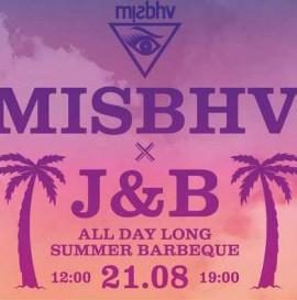 MISBHV x J&B - SUMMER BARBEQUE 21 sierpnia w krakowie.