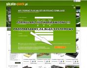 Na skate-park.pl formularz już działa !!!