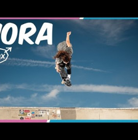 Nora Shreds on Krux 8.5