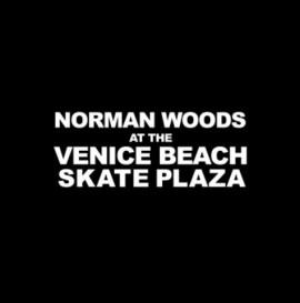 Norman Woods skating Venice Beach