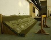Nowa przeszkoda w Kamuflage Skatepark