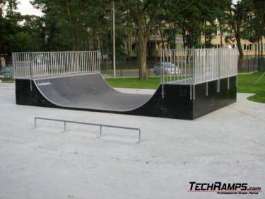 Nowe skateparki Techramps