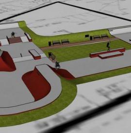 Nowy Betonowy skatepark w Opolu