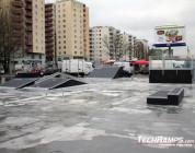 Nowy mały skatepark w Warszawie Bemowo