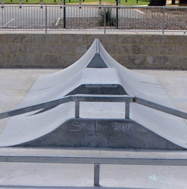 Nowy skatepark nie nadaje się do użytku?