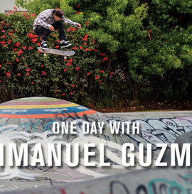One Day With: Emmanuel Guzman