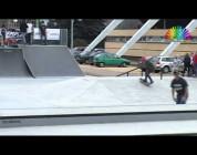 OświęcimOnline  prezentuje krótkie wideo z otwarcia skateparku w Oświęcimiu.