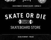 """Otwarcie skate shopu """"Skate or Die"""""""