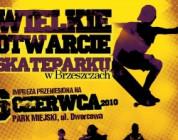 Otwarcie Skateparku w Brzeszczach - wyniki zawodów i minirelacja