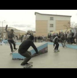 Parlour skate store x Adidas skateboarding Smash and Grab
