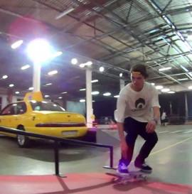 Patryk i Chappi na Red Bull Skate Arcade