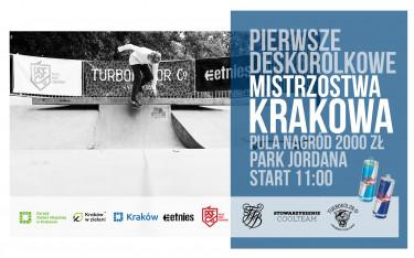 Pierwsze Deskorolkowe Mistrzostwa Krakowa