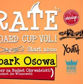 Pirate Skateboard Cup Vol.1