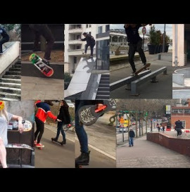 Pizza Skateboards | Paris Iphone Clips