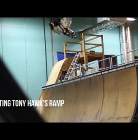 PLG on Tony Hawk's ramp