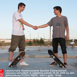 Podaj rękę Skate Jam