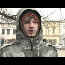 """""""Gdzie jest Skatepark?"""" Protest Nowy Sącz 9.03.2012"""
