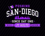 Real Skateboards JT Aultz Pushing San Diego