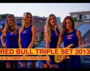 RED BULL TRIPLE SET 2013 SAN DIEGO