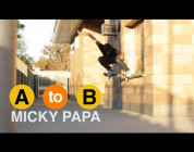RIDE CHANNEL – A TO B – MICKY PAPA SKATES WEST LOS ANGELES