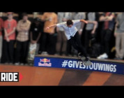 RIDE CHANNEL - AUSTYN GILLETTE AT TAMPA PRO 2013