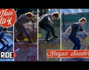 RIDE CHANNEL - HOW TO: CROOKED GRIND TO FAKIE WITH KEEGAN SAUDER